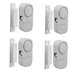 VaktHome windows & doors alarm system, in set of 4 complete units